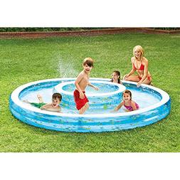 "Intex Wishing Well Swim Center Pool, 110"" x 14"", for Ages 2+"