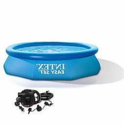 """Intex 10' x 30"""" Easy Set Inflatable Above Ground Swimming Po"""