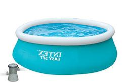 """Intex 6' x 20"""" Easy Set Inflatable Swimming Pool with 330 GH"""
