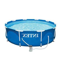 x metal frame swimming pool