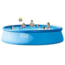 """Coleman 18' x 48"""" Power Steel Frame Above Ground Swimming Po"""