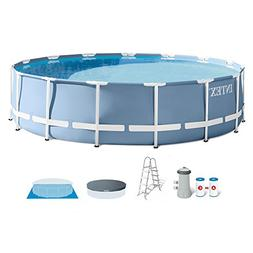 Intex 15 Feet x 42 Inches Prism Frame Above Ground Swimming