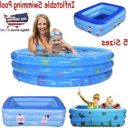 XS-XL Inflatable Swim Center Family & Kids Play Fun Outdoor