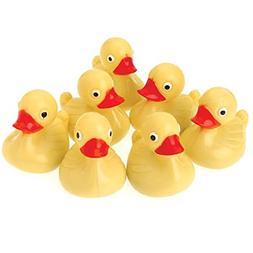 Yellow Plastic Ducks : package of 12